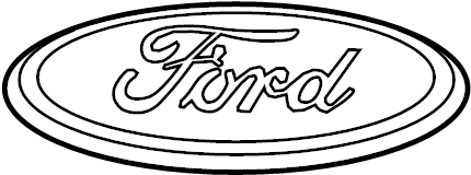 Ford Focus Decal Name Plate Oem Cv6z16605a North